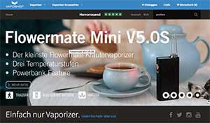 Screenshot Vaposhop.de