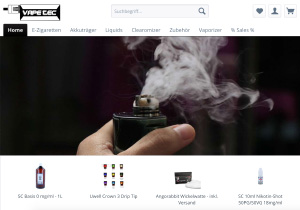 Screenshot Vape-Tec.de